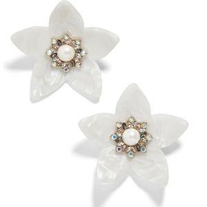BaubleBar Amariah Flower Earrings